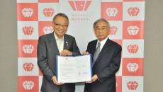 協定後の高野区長(左)と鈴木社長 sCSC_0049