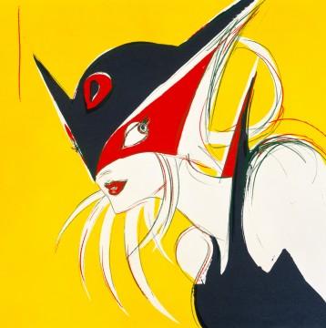 《マドンナ》 1996年 800×800㎜ シルクスクリーン ©YOSHITAKA AMANO