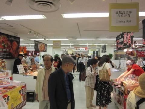 東武百貨店が独自にセレクトした名店が並ぶ「肉グルメエリア」