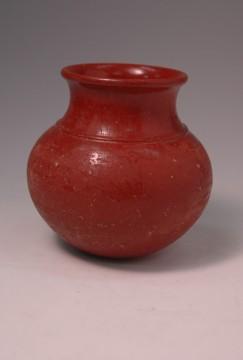 赤色磨研壺(紀元前8世紀)