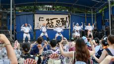 昨年の'にゅ~盆踊り'の様子(©涌井直志)