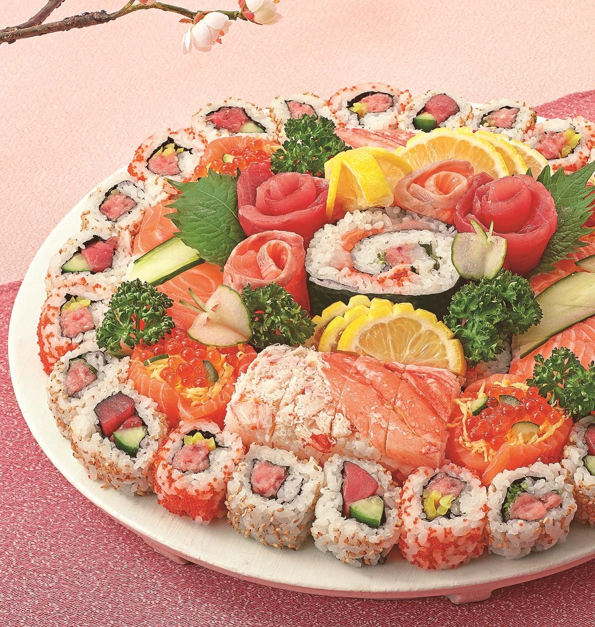 魚力恵方巻パーティー寿司②