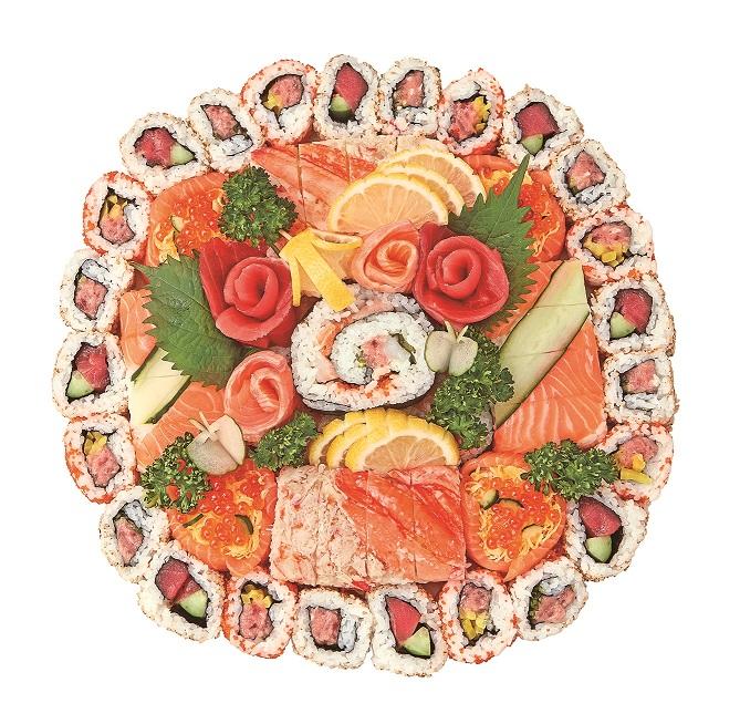 魚力 「恵方巻パーティー寿司」