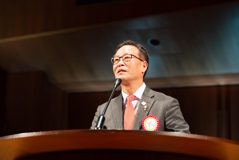 韓国 仁川広域市 副市長 朴 俊夏