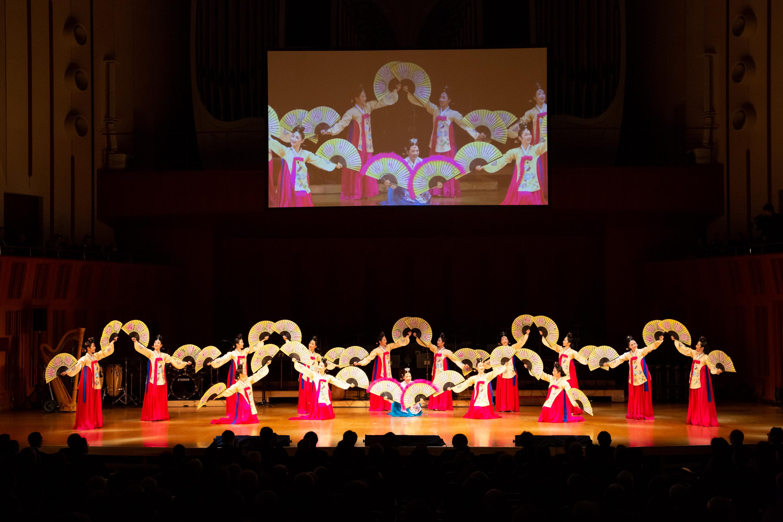 韓国公演 仁川市立舞踊団 舞踊