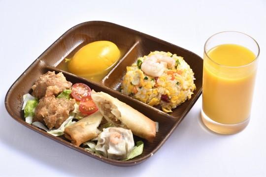 お子様プレート デザート・ドリンク付 1,080円 中華旬彩料理・火鍋 聚(アルパ3階)