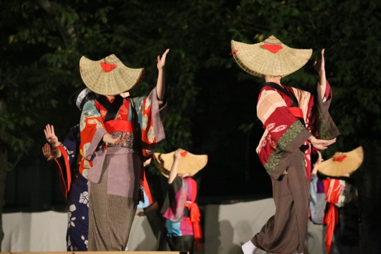 Hitoha Odaru _ Nishima Onnai Bon Dance Photo