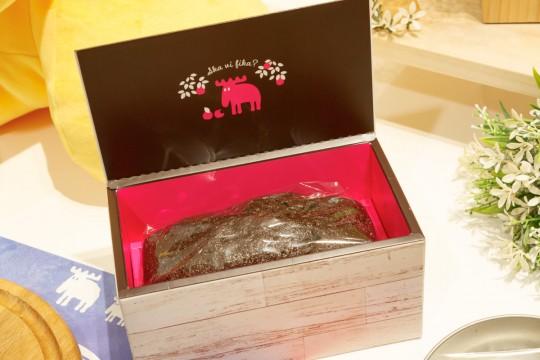 「フィーカしませんか?」というスウェーデン語が書かれた小箱
