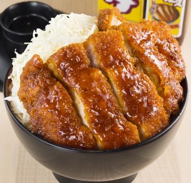 「明治亭」ソースかつ丼