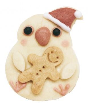プレゼントクッキーのkurimaro(インコサミット)左