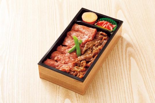 Shoeiken Kagoshima Japanese Black Beef Sirloin Steak & Sukiyaki Bento