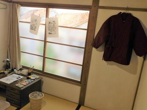 16号室赤塚不二夫さんの部屋でした再現したものではないDSCN3701 (2)