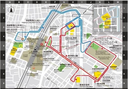 今までのルート図