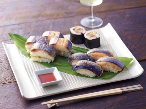 [Hokushin sushi] Saury sushi