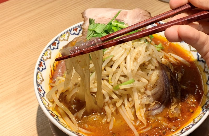 Sweet potato vermicelli noodles look like this. It was surprisingly satisfying to eat.
