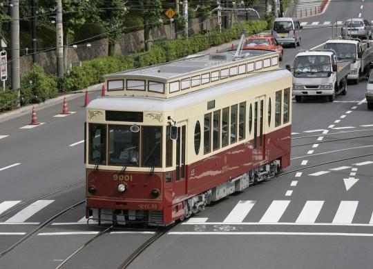 Tokyo Sakura Tram (Toden-Arakawa Line) (Image)