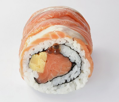 [Fish power] Junsei King salmon roll