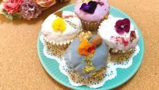 4種類の「お花のマフィン」