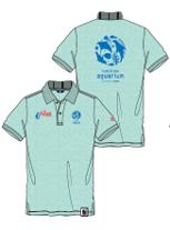 水族館スタッフが期間中着用する、マンシングウェアとのコラボポロシャツ