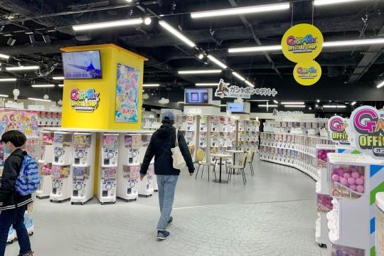 売り場はこんな感じです。広~~~~~~~~~~~~い!!