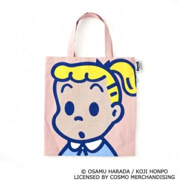 ●OSAMUGOODS×RO OTOTEコラボトートバッグ(約タテ30×ヨコ28×マチ4㎝)3,520円 © OSAMU HARADA / KOJI HONPO LICENSED BY COSMO MERCHANDISING
