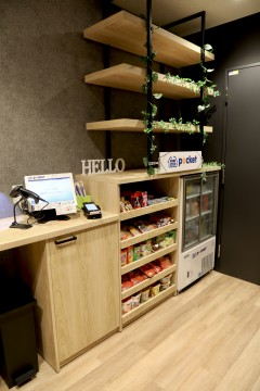 Unmanned self-convenience store MINI STOP pocket