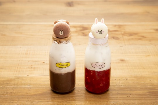 Latte 950 yen each