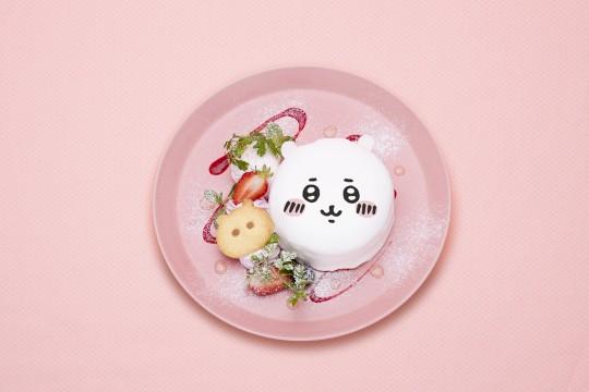 Chikawa's face pancake 1,400 yen (1,540 yen including tax) © nagano