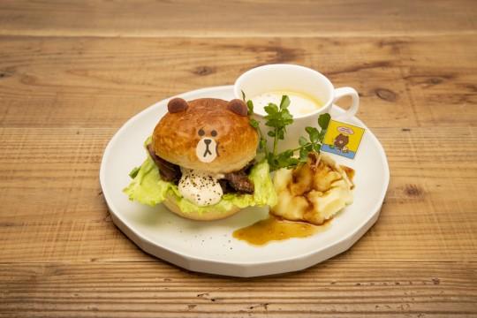BROWN`s Beaf Burger 1,250 yen