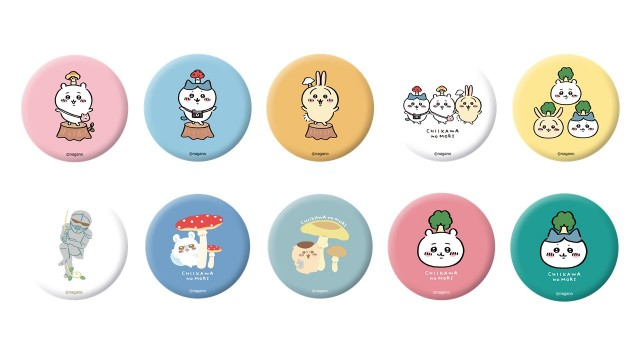 [Capsule products] Can badges (10 types in total)