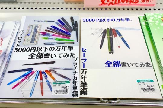 Fountain pen for less than 5,000 yen