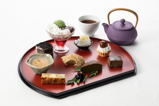 Ikebukuro Tobu Store Limited Japanese Afternoon Tea Plate Suisen Halle's Day Drink Set