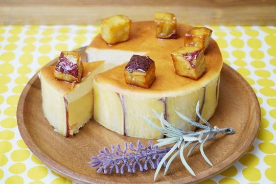 Potatoes, cheese and sweet potatoes