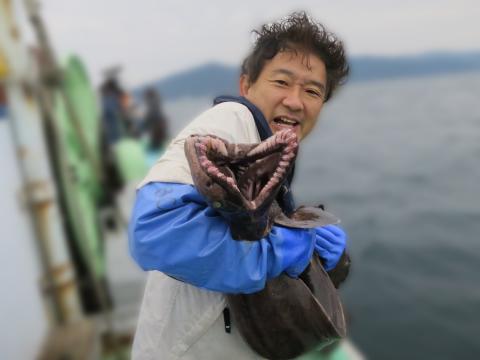 ▲ Mr. Koji Ishigaki, a sea arranger