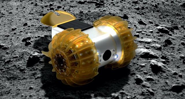 "Japanese-made lunar rover ""YAOKI"""
