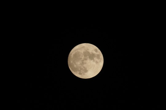 Mid-autumn moon taken from the 2020 observatory