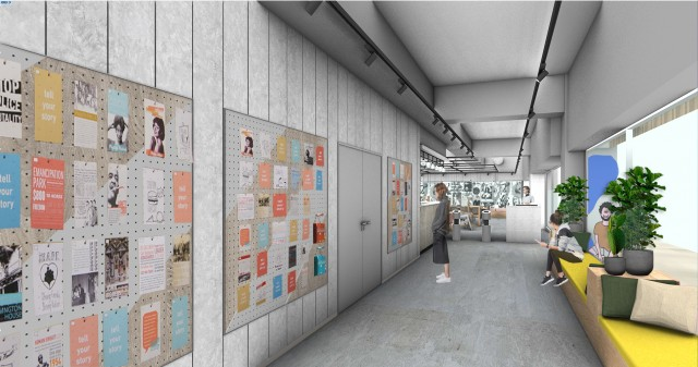 Information wall (image)