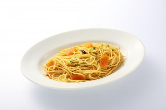 地中海育ちのカラスミを使ったスパゲティ ベルガモットの香り 1,900円 AGIO(専門店街アルパ3F)