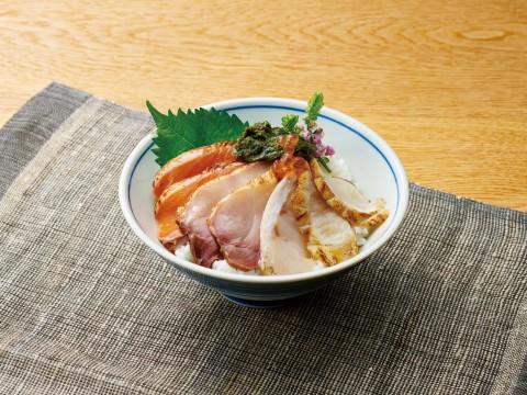 近江市場で人気のどぐろ入スペシャル丼の素